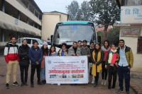 Overview of a week long Health awareness campaign in Parbat